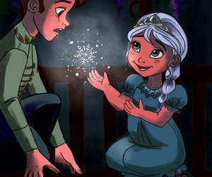 disney princess, frozen, and little prince image