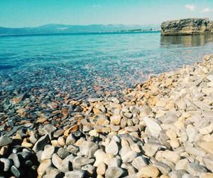 beach, Greece, and holidays image