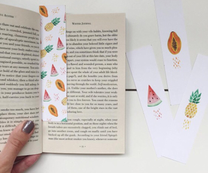 book, books, and bookmarks image