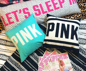 pink and pillows image