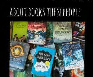 books, heart, and people image