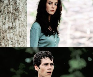 scodelario, the maze runner, and dylan o'brien image