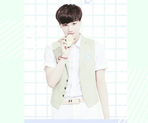 exo, grid, and pastel image