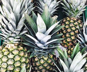 fruit, pineapple, and summer image