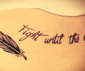 quotes, stay strong, and tatoo image