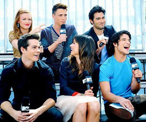 teen wolf, dylan o'brien, and colton haynes image