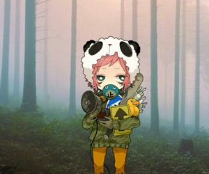 edit, panda hero, and vocaloid image