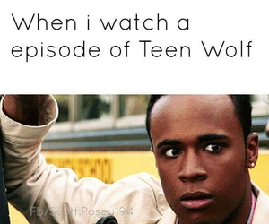 teen wolf and intense image