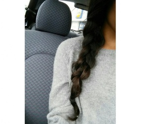 girl and hairstyle image