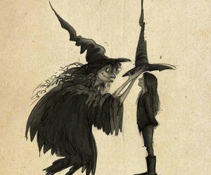 Halloween, magic, and witch image