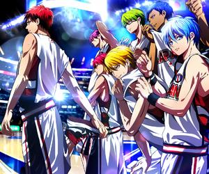 anime, kuroko no basket, and Basketball image
