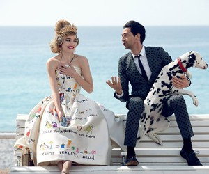 adrien brody, Natalia Vodianova, and vogue image