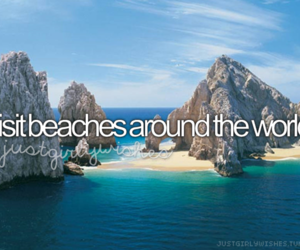 beach, travel, and bucket list image