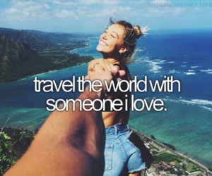 fashion, travel, and love image