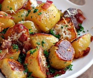 potato, food, and delicious image