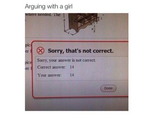crazy, arguing, and funny image