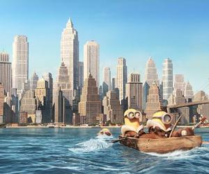 minions, city, and new york image
