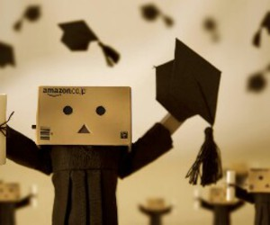 danbo, graduation, and graduate image