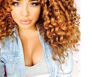 curly hair, hair, and Calvin Klein image