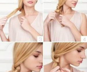 blonde, steps, and hairstyle tutorial image
