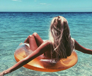 beach, lovely, and paradise image