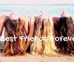 beach, best friends forever, and cute image