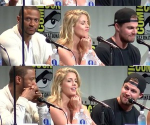 arrow, comic con, and oliver queen image