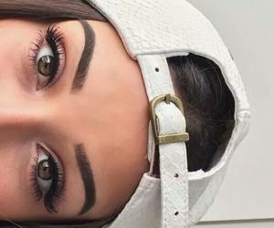 beautiful, eyebrown, and beauty image
