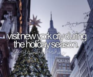 new york, christmas, and holiday image