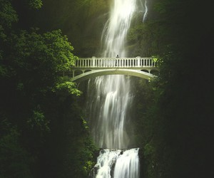 awesome and waterfall image
