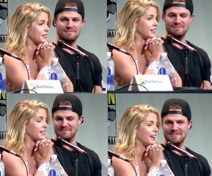 arrow, stephen amell, and olicity image