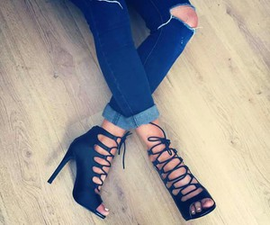clothes heels shoes image