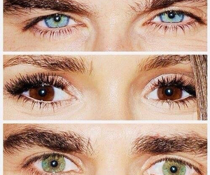 eyes, ian somerhalder, and Nina Dobrev image