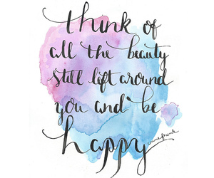 quotes and watercolor image