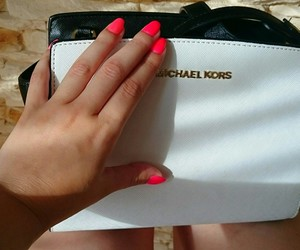 bag, nails, and summer image