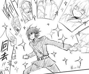 lol, yuu, and anime boy image