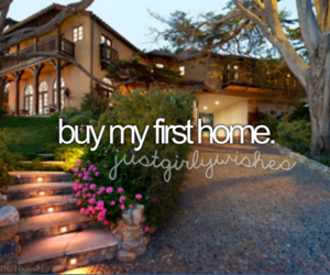 home, house, and bucket list image