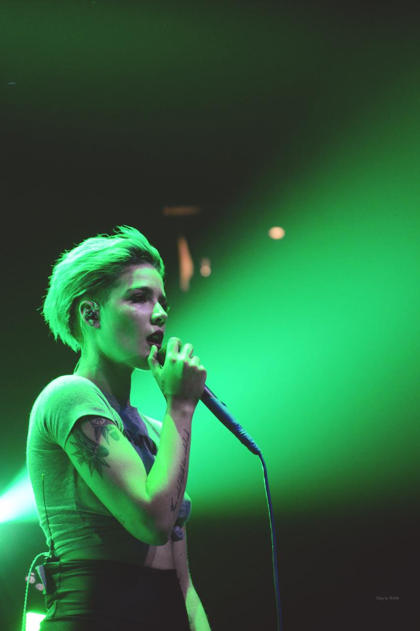 halsey, green, and grunge image