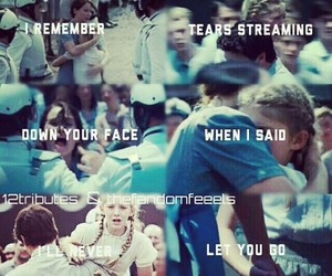 sad, Taylor Swift, and the hunger games image