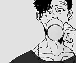 anime, boy, and benriya image