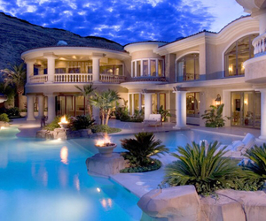 Dream, house, and pool image