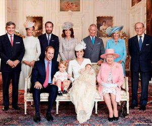 kate middleton, prince george, and prince william image