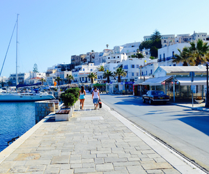 beautiful, town, and white image