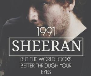 ed sheeran, 1991, and ed image