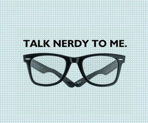 nerd, geek, and glasses image