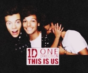louis tomlinson, larry, and one direction image