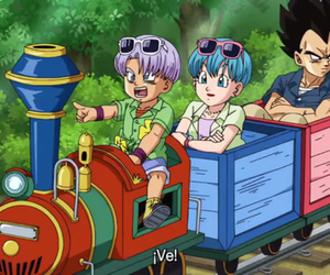 bulma, lol, and trunks image