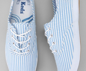 keds, style, and blue image