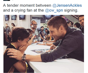 comic con, dean winchester, and Jensen Ackles image