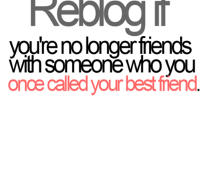 best friends, reblog, and text image